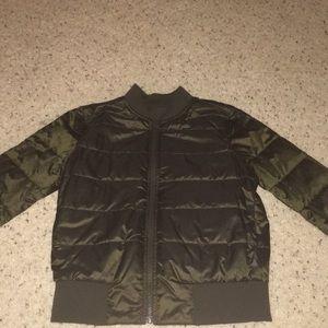 Non-Stop Bomber Reversible Jacket
